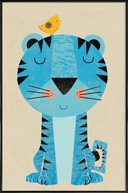 Tiger - Poster in Standard Frame