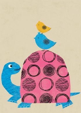 Tortoise -Leinwandbild