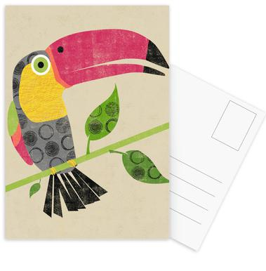 Toucan Postcard Set