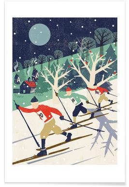 Skiers affiche