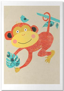 Monkey notitieblok