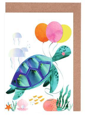 Turtle Greeting Card Set