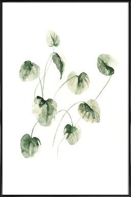 Drop Leaves ingelijste poster