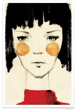 Citygirl - Premium poster