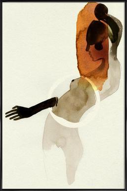 Doll 1 - Poster in kunststof lijst