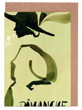 Dimanche -Grußkarten-Set