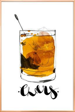 Cheers -Poster im Alurahmen