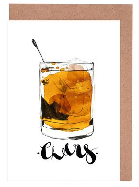 Cheers -Grußkarten-Set