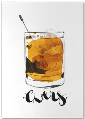 Cheers -Notizblock