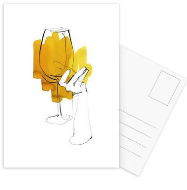Vino -Postkartenset