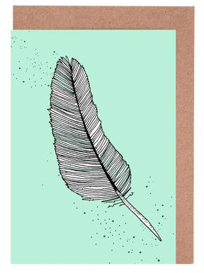 Feather Greeting Card Set
