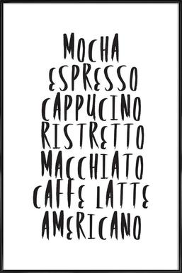 Coffee Framed Poster