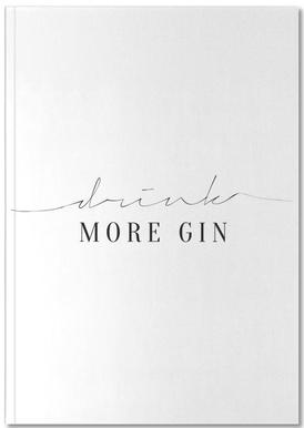 Drink More Gin Notebook