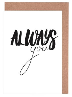 Always You cartes de vœux