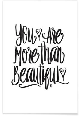 You Are More Than Beautiful affiche