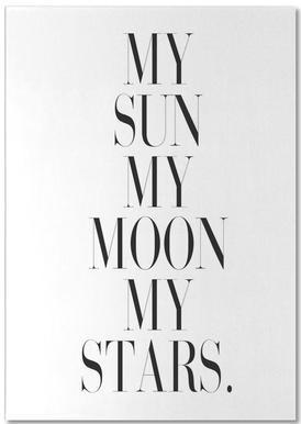 My Sun My Moon notitieblok