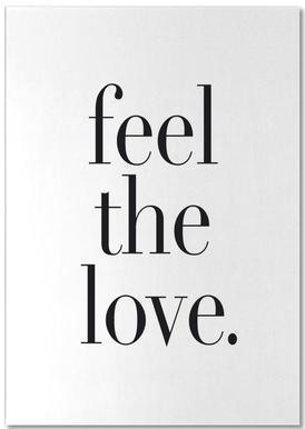 Feel The Love Notepad