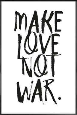 Make Love Framed Poster