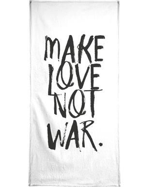 Make Love Bath Towel