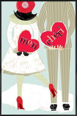 Mon Chéri Framed Poster