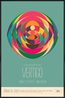 Vertigo ingelijste poster