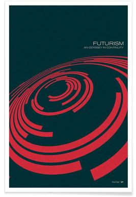 Futurism 15 -Poster