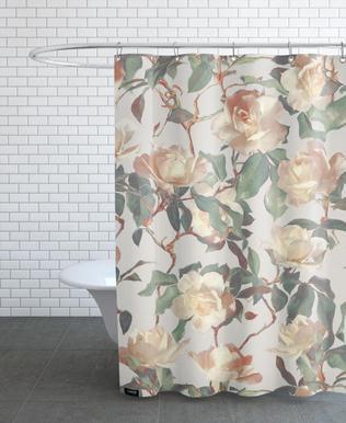 Vintage Roses douchegordijn