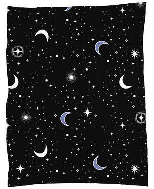 Stars Holiday Fleece Blanket