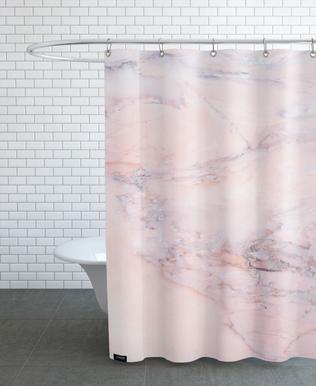 Blush Marble rideau de douche