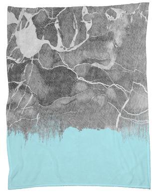 Crayon Marble and Sea Prints plaid