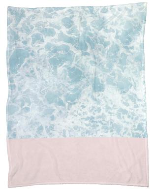 Pink on the Sea plaid
