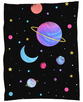 Great Universe Fleece Blanket