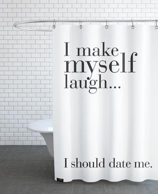 Date me Shower Curtain