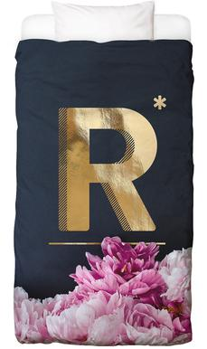 Flower Alphabet R
