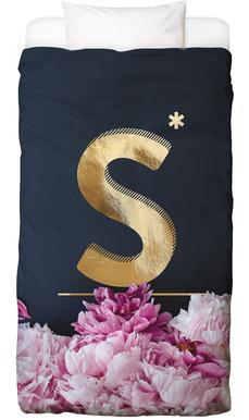 Flower Alphabet S Bed Linen