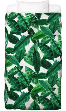 Small Palm Leaves Bed Linen