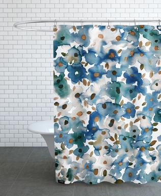 Georgia Floral Shower Curtain