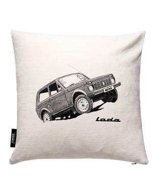 Lada Niva Cushion Cover