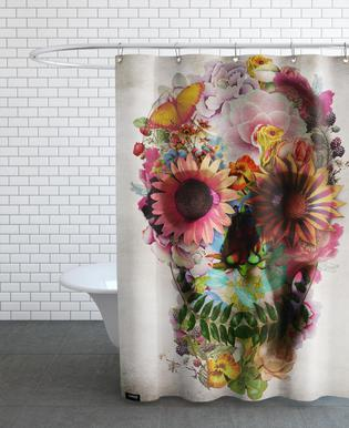 Skull II Shower Curtain