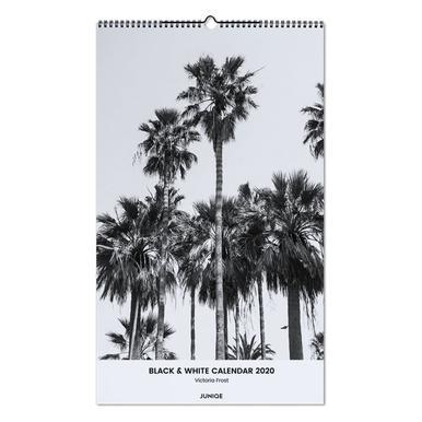 Black & White Calendar 2020 - Victoria Frost Wall Calendar