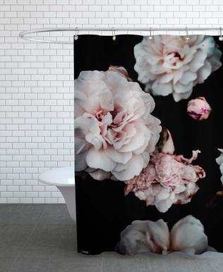 Crisp Pink Shower Curtain