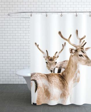 Deers II Shower Curtain