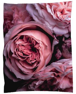 Vintage Pink Fleece Blanket