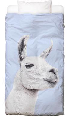 Blue Llama II Bed Linen