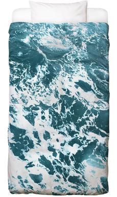 Ocean Blue Linge de lit