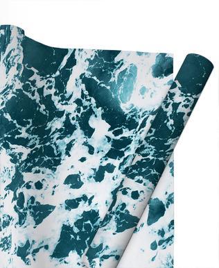 Ocean Blue papier cadeau