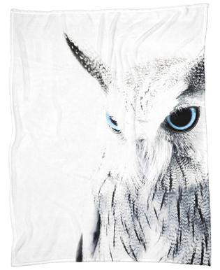 Owl II Fleece Blanket