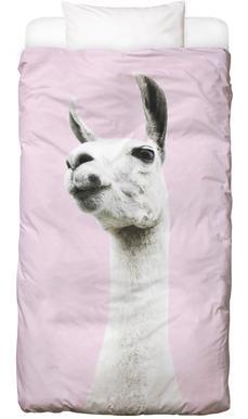 Pink Llama Bettwäsche