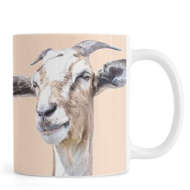 Orange Goat -Tasse