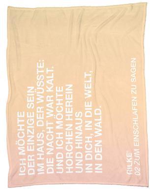 Zum Einschlafen Zu Sagen Light 02 Fleece Blanket